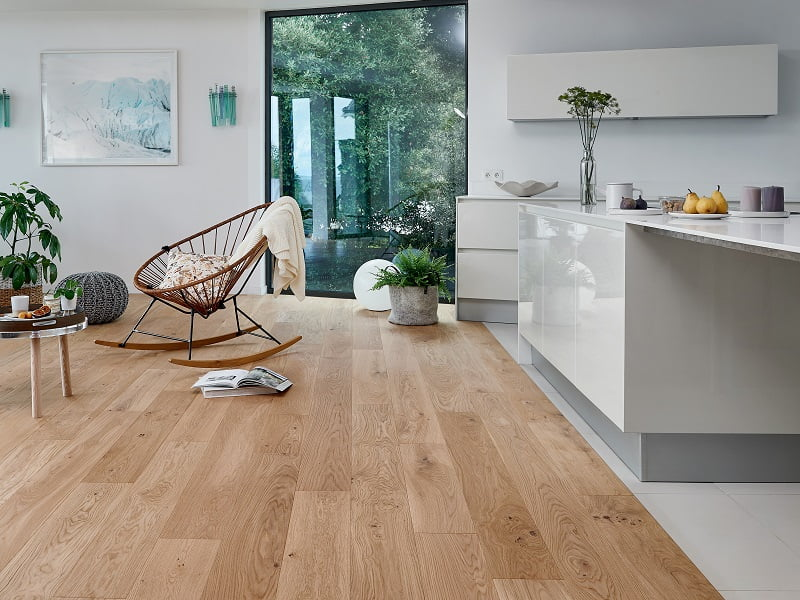 European flooring can create a unique and beautiful living space in your home or office