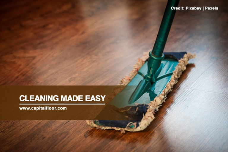 Cleaning made easy