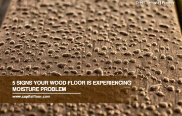 5 Signs Your Wood Floor Is Experiencing Moisture Problem