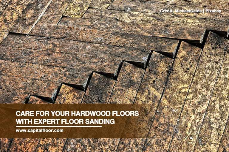 Care For Your Hardwood Floors With Expert Floor Sanding