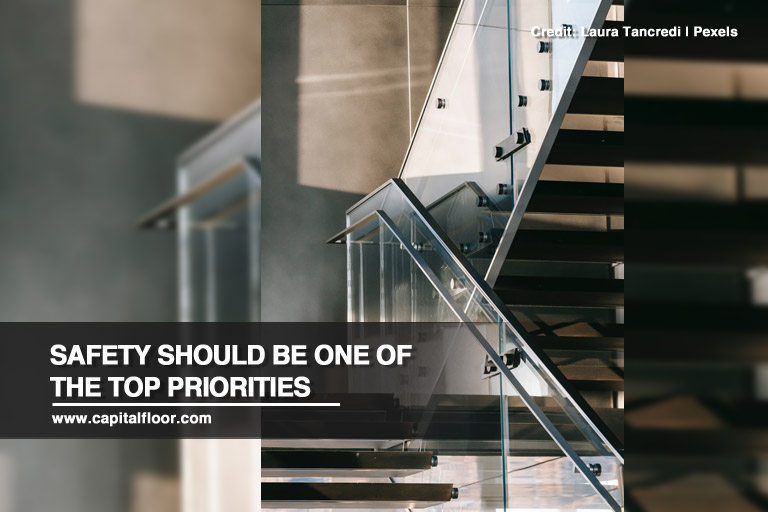 Safety should be one of the top priorities